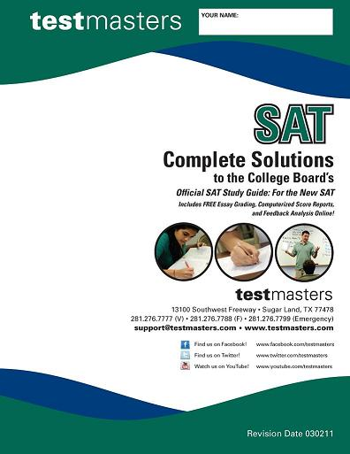 Online SAT Test - FREE SAT Exam Study Preparation and ...
